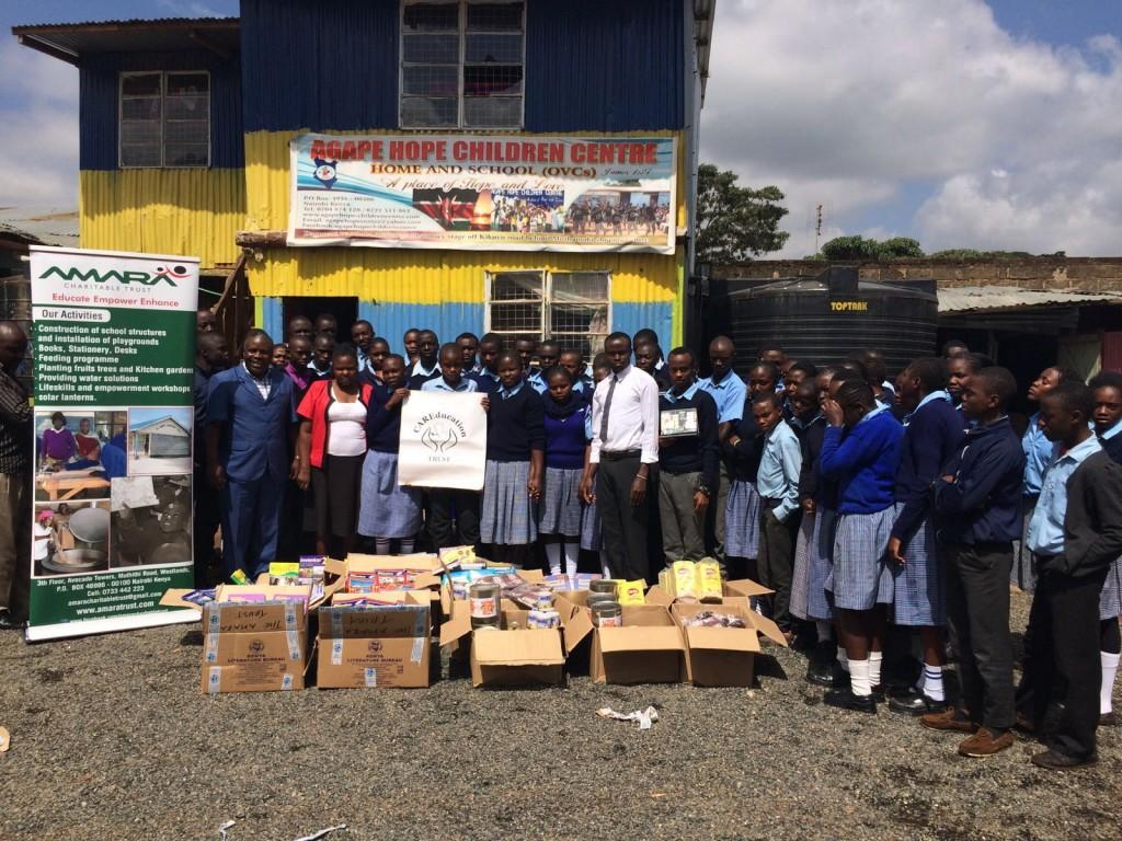 CARE provides vital books to Agape Hope Children Centre, Nairobi