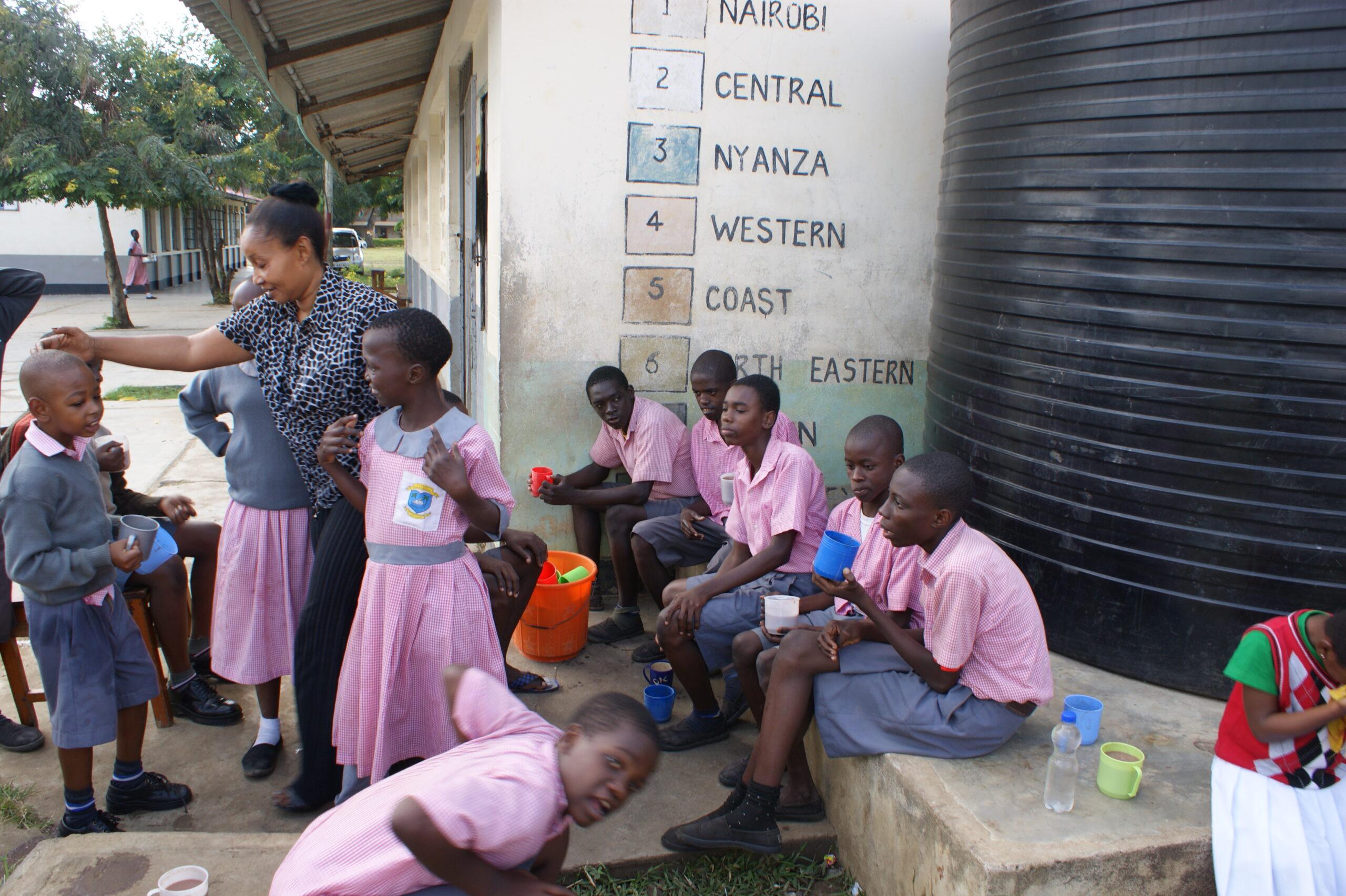 Rainbow Unit Project, Utange School Mombasa